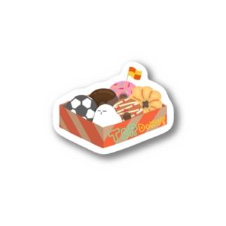 うんうんふくろう(どーなつ) Stickers