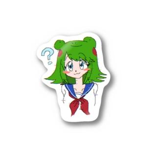 カエルの女の子 Stickers