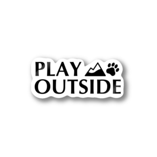 PLAY OUTSIDE ステッカー Stickers
