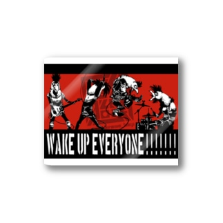 WAKE UP EVERYONE!!!!!! Stickers