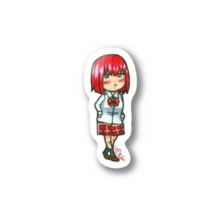 鳳梨 麻火(ほうり あさひ) Stickers