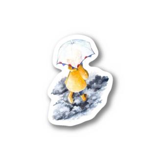 [ 梅雨前線 ] Stickers
