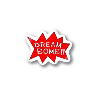 DREAM BOMB!! ユメノバクダン Stickers