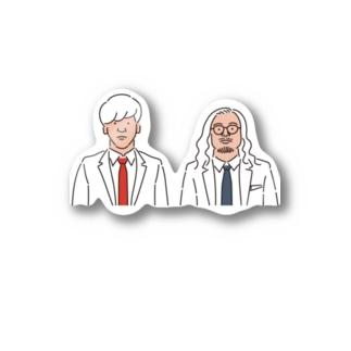 レーズンダイナマイトデザイン2 Stickers