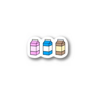 3種セット Stickers