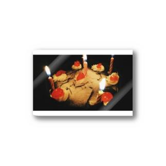 バースデーケーキ Stickers