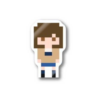 PixelGirl - megumi ステッカー