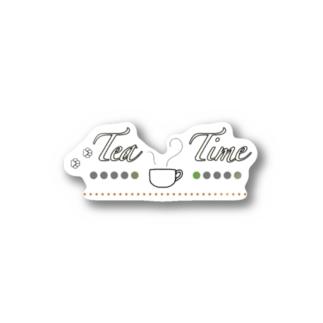 Tea Time Stickers