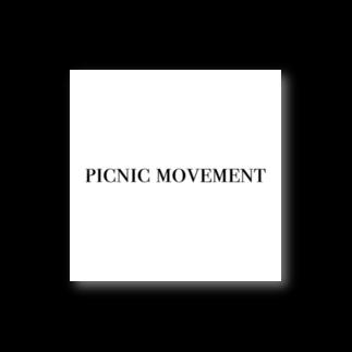 N design labのpicnic movement Stickers