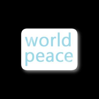 アメリカンベースの世界平和 Stickers