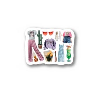 デザイン Stickers