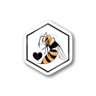 蜜蜂ちゃん Stickers
