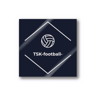 TSK-football- ステッカー Stickers