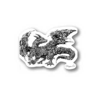 ドラゴン Sticker