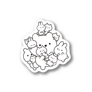 密になりたい動物たち Stickers