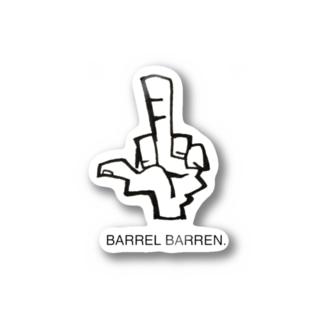 BARREL BARREN. Stickers