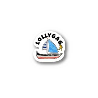 LOLLYGAG Stickers
