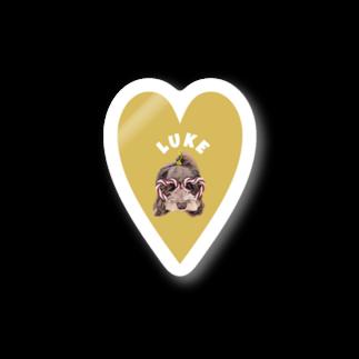よっしぃのLuke Stickers