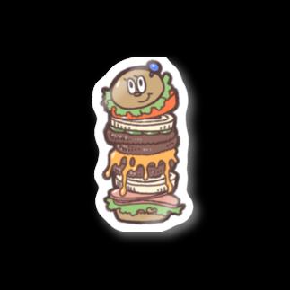 YMDのBurger Stickers