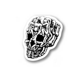Sex Skull Stickers
