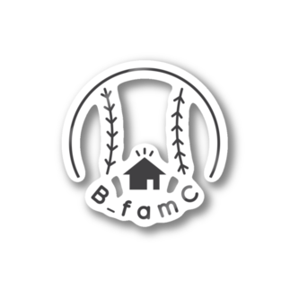 B_famC 【official サイト】のB_famC【official グッズ】 Stickers