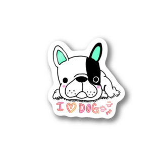 peacefulのグデフレ君 Stickers