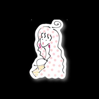 TiffaのPinK Dot Stickers