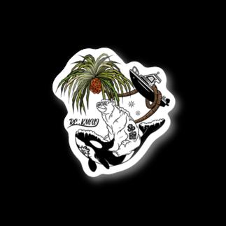 Re:kmui-レプンカムイ-のRe:kmui Holiday of Ainu ステッカー Stickers