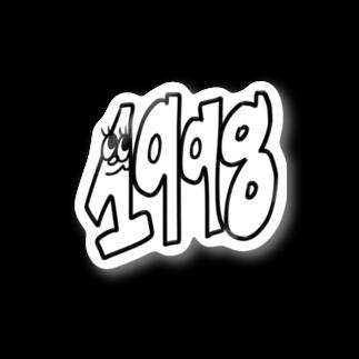 のぐち ななみの1 9 9 8 Stickers
