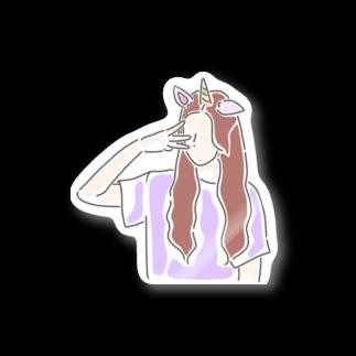 MayのUnicorn  Stickers