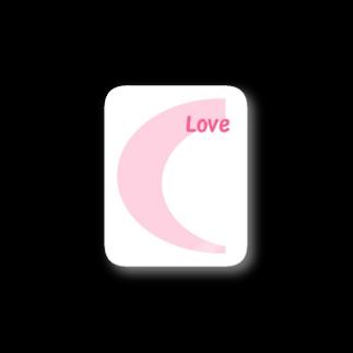 アメリカンベースのLove  デザイン Stickers