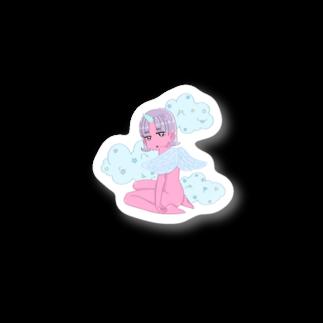 びんとろのユニコーン娘 Stickers