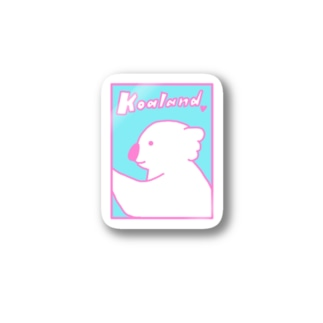 Koaland No.3 Stickers