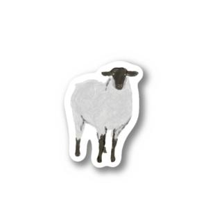 Calm sheep Stickers