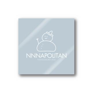 ナポ達磨くんステッカー(冬) Stickers