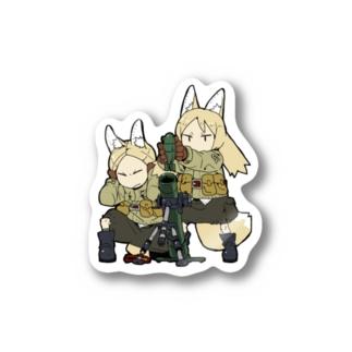 第3歩兵師団第7歩兵連隊フォックス分隊迫撃砲ステッカー Stickers