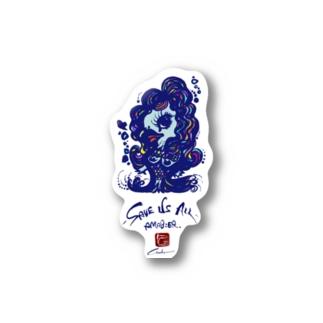 アマビエちゃん Stickers