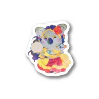 ベリーダンサーコアラ Stickers