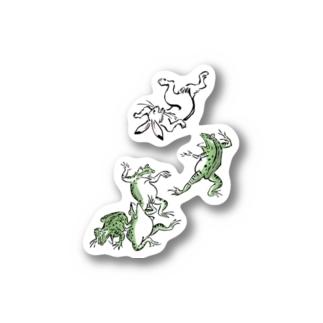 鳥獣戯画 Stickers