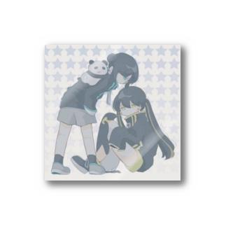 シンシアとティカ Stickers
