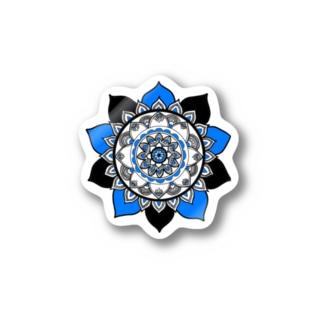 紺碧の花 Stickers