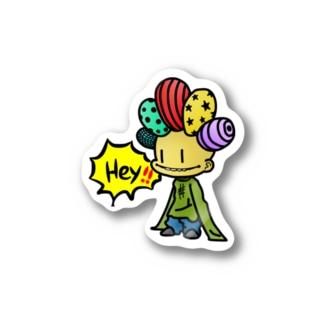 Hey!  Stickers