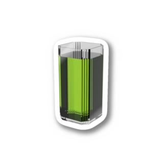 ドリンクバー・緑茶 Stickers