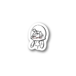 Melt girl Stickers