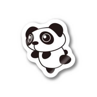 パンダさん(A)ステッカー Stickers