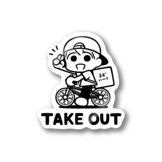 takeout Stickers