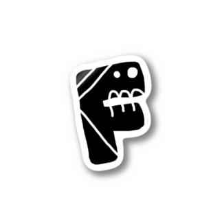 alphabetMONSTAR【F】 Stickers