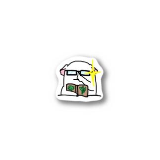 モルモット屋さん 時々違うのモルモット 真面目系 Stickers