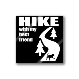 四角なHIKE Stickers
