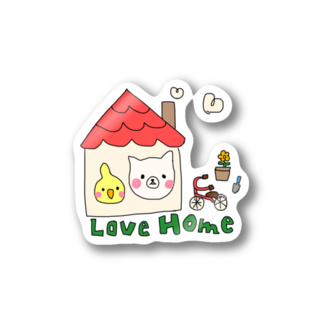 Rainbow StudioのLove Home Stickers